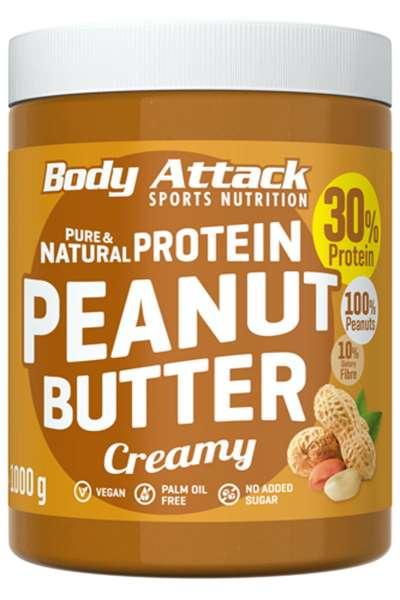Body Attack Peanut Butter, 1000g