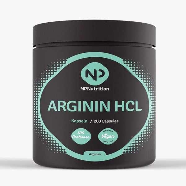 NP Nutrition – Arginin HCL – 200 Kapseln