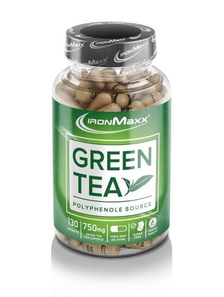 IRONMAXX Green Tea, 130 Kapseln