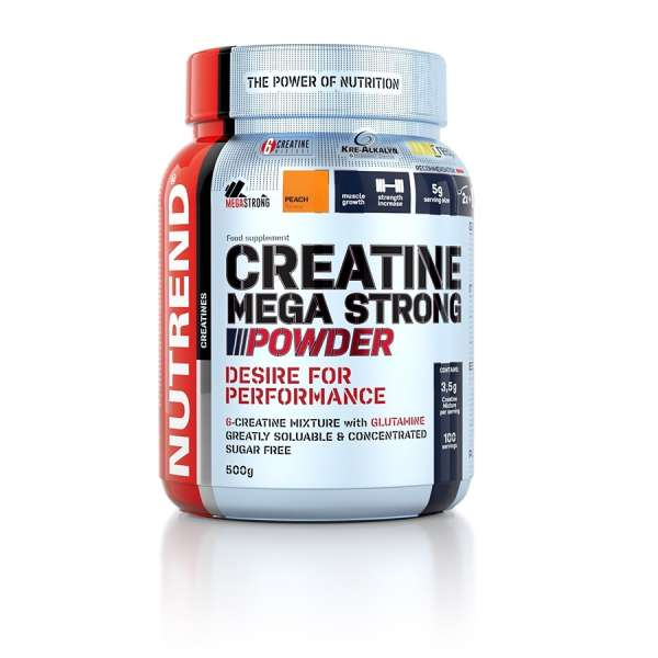 Nutrend Creatine Mega Strong Powder, 500g