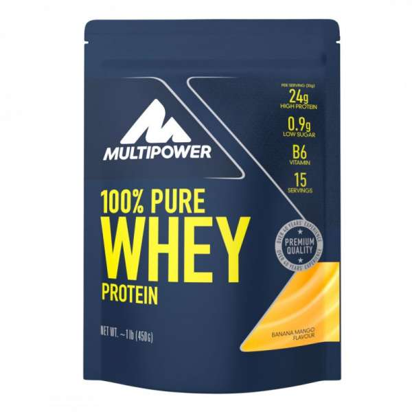Multipower 100% Pure Whey Protein, 450g