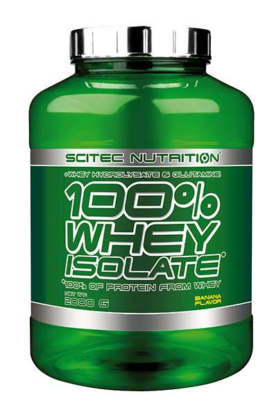 Scitec Nutrition 100% Whey Isolate, 2000g