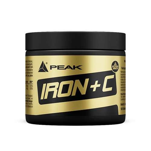 Peak Iron + C, 120 Tabletten
