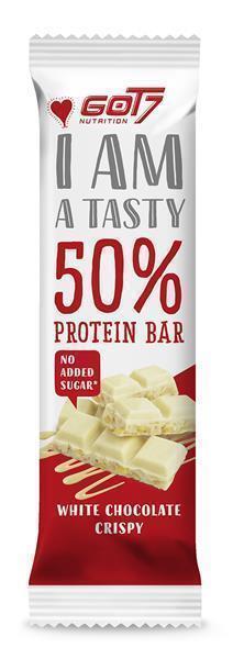 GOT7 Nutrition 50% Protein Bar, 60g MHD 11.11.21