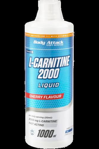 Body Attack L-Carnitin 2000 Liquid, 1000ml