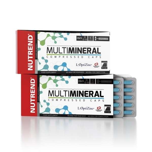 Nutrend Multimineral Compressed, 60 Kapseln