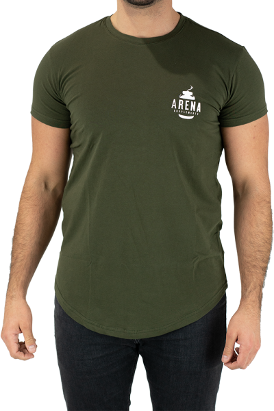 Arena Supplements T-Shirt Khaki