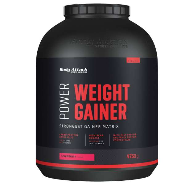 BODY ATTACK Power Weight Gainer 4750g