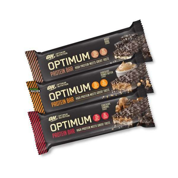 Optimum Nutrition Protein Bar, 62g MHD 31.12.2021