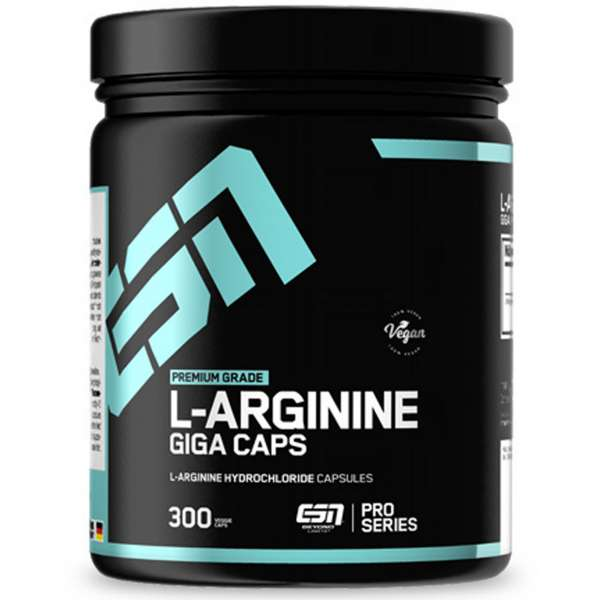ESN L-Arginine Giga Caps, 300 Kapseln