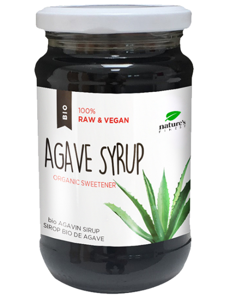 Nutrisslim Bio Agave Sirup, 370ml