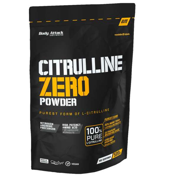Body Attack Citrulline Zero Powder, 500g