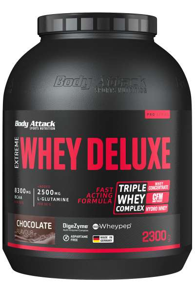 Body Attack Extreme Whey Deluxe, 2300g