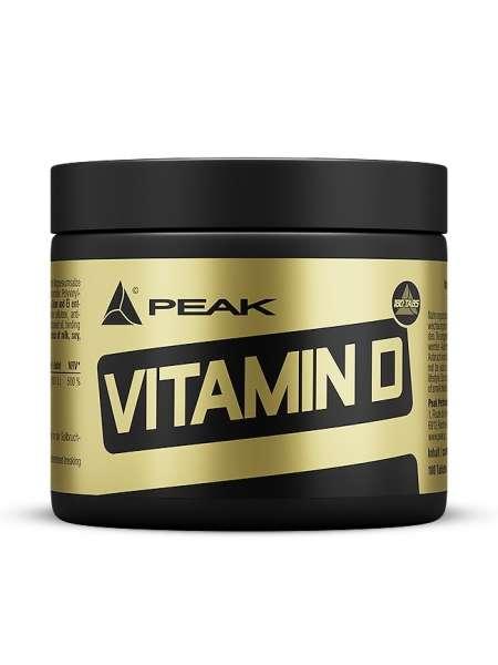 Peak Vitamin D, 180 Tabletten