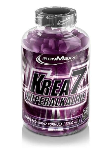 IronMaxx Krea7 Superalkaline, 180 Tabletten