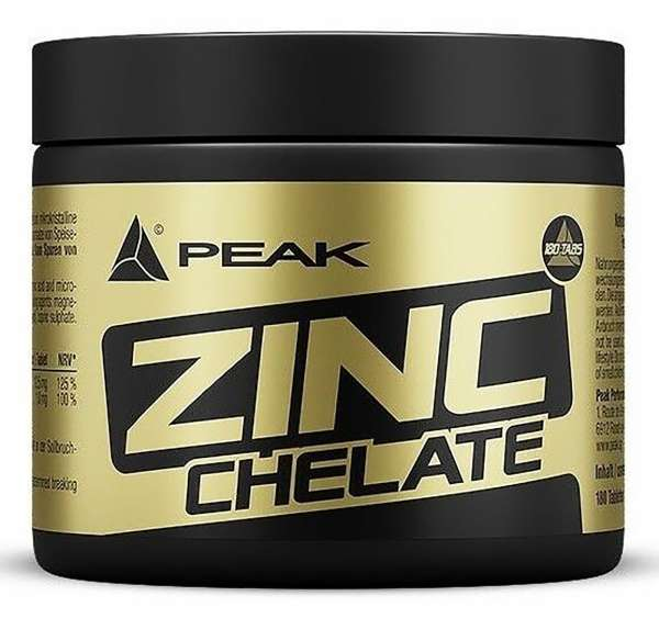Peak Zinc Chelate, 180 Tabletten