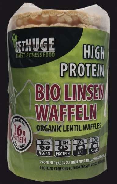 GET HUGE Bio Protein Linsenwaffeln , 85g