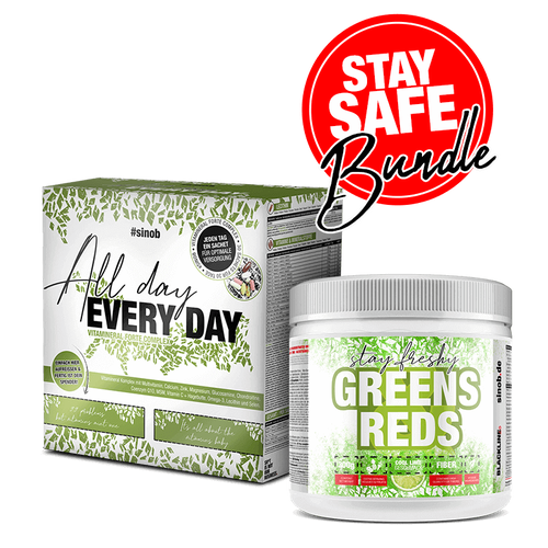 Blackline 2.0 Sinob Stay Safe Bundle - All Day Every Day + Green and Reds