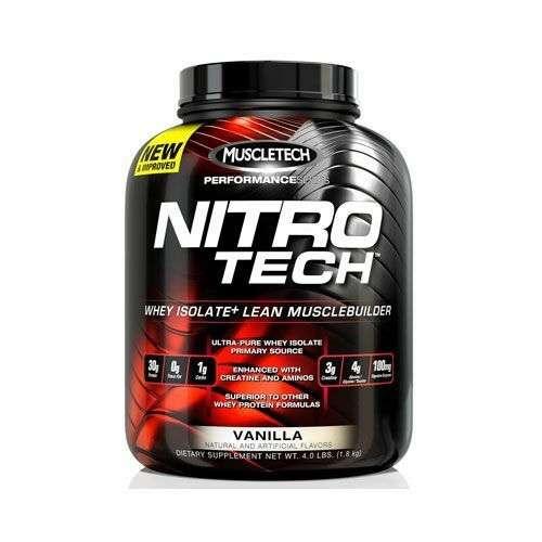 Muscletech Nitro Tech Whey Isolate, 1800g