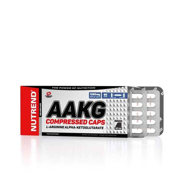 Nutrend AAKG Compressed Caps, 120 Kapseln
