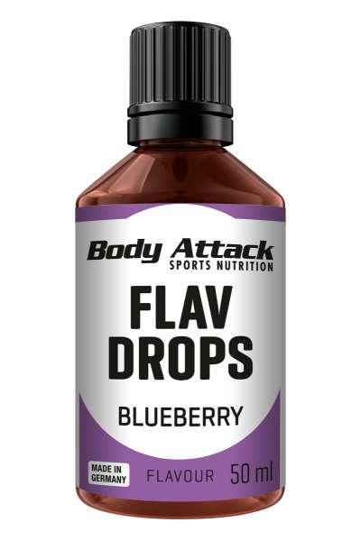 Body Attack Flav Drops, 50ml