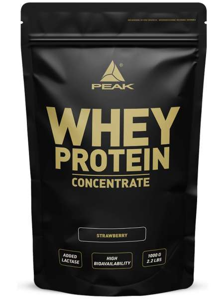 Peak Whey Protein Concentrate, 1000g