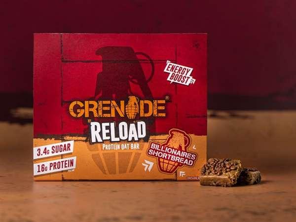 Grenade Reload Protein Oat Bar, 70g