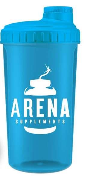 Arena Supplements Protein Shaker Blau, 700ml