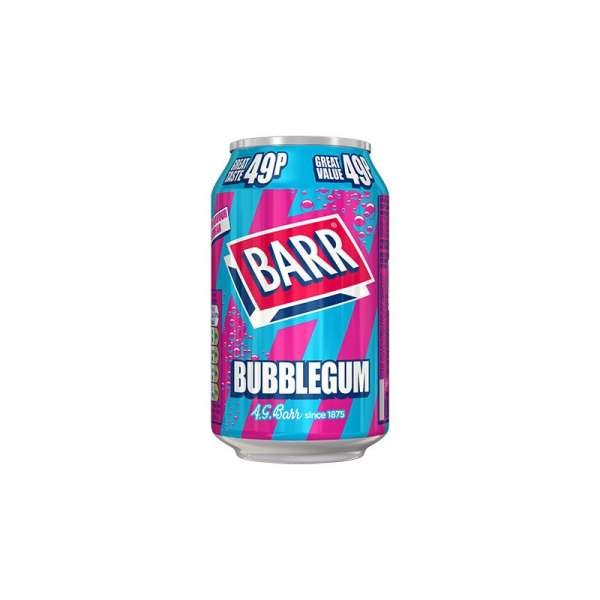 Barr Bubblegum, 330ml