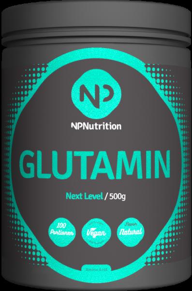 NP Nutrition Glutamin, 500g