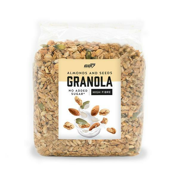 GOT7 Nutrition Granola Müsli Almonds & Seeds, 300g