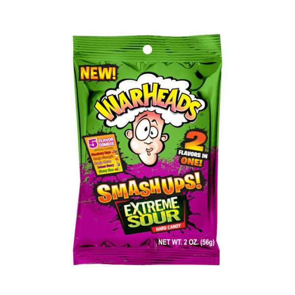 Impact Confections Warheads Smashups Extreme Sour, 56g