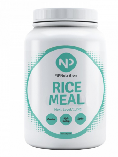 NP Nutrition - Rice Meal, 3600g