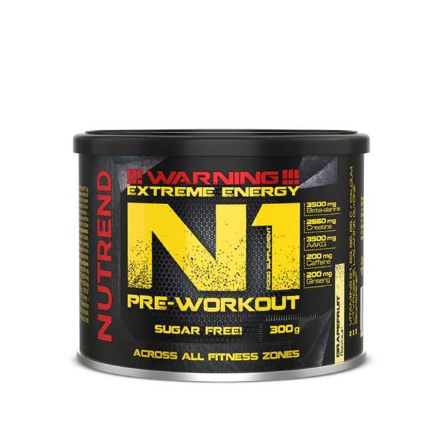 Nutrend N1 Pre-Workout, 300g