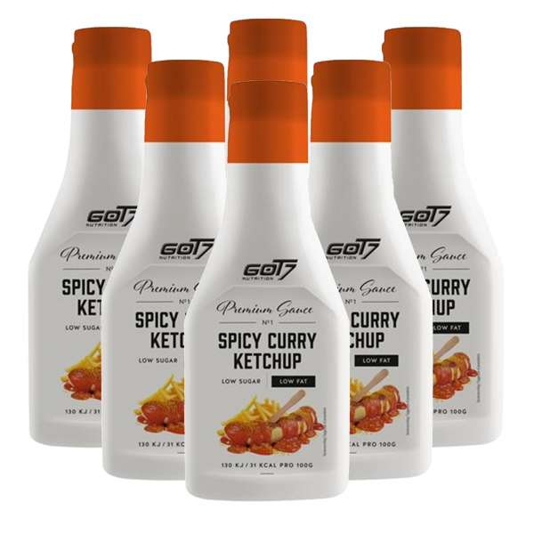 GOT7 Nutrition Premium Sauce 6 x 285ml