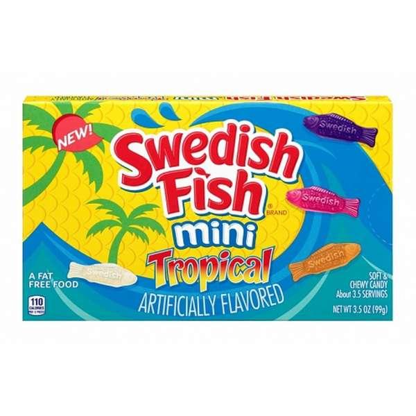 Swedish Fish Tropical Box, 99g