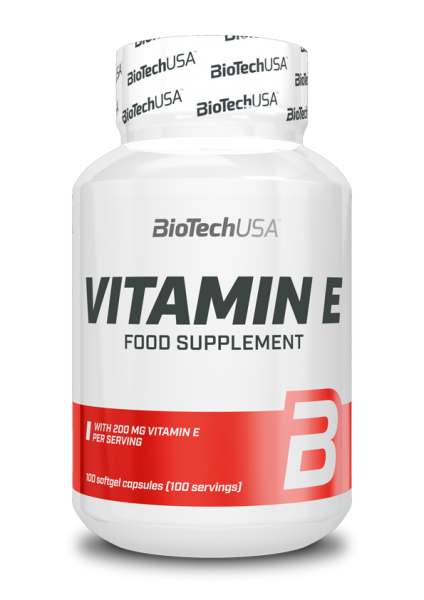 Biotech USA Vitamin E, 100 Softgel Kapseln