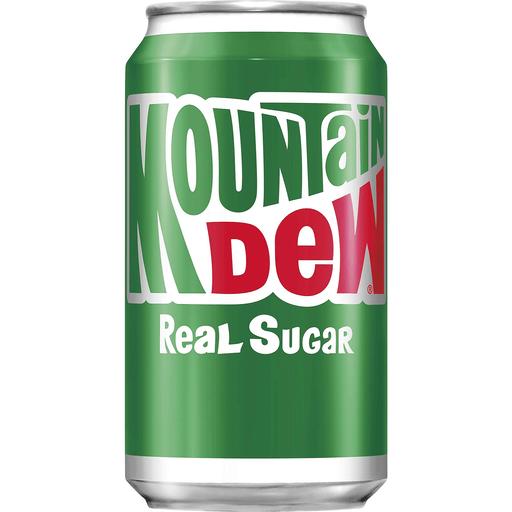Mountain Dew Real Sugar, 355 ml