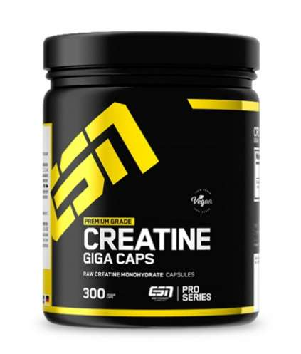 ESN Creatine Giga Caps, 300 Kapseln