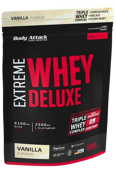 Body Attack Extreme Whey Deluxe, 900g