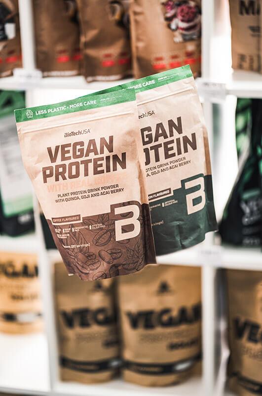 Eiweißpulver Vegan
