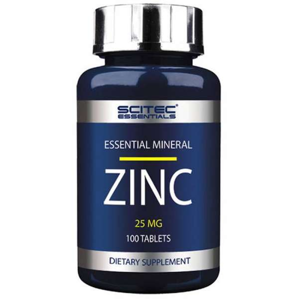 Scitec Nutrition Essentials Mineral Zinc, 100 Tabletten