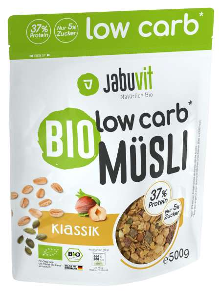 Jabuvit Low Carb Müsli, 500g
