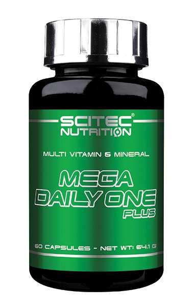 Scitec Nutrition Mega Daily One Plus, 60 Kapseln