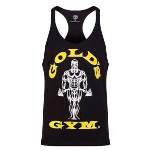Golds Gym Classic Stringer Tank Top Black
