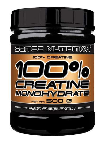 Scitec Nutrition 100% Creatine Monohydrat, 500g