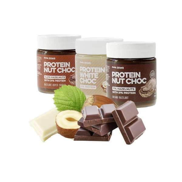 Body Attack Protein Nut Choc Protein, 250g
