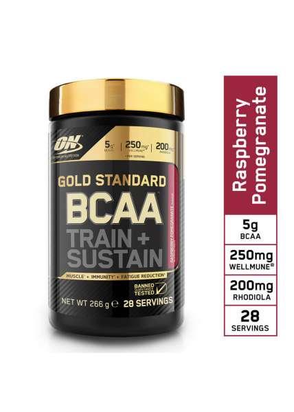 Optimum Nutrition BCAA Train + Sustain, 266g