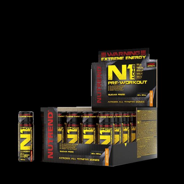 Nutrend N1 Shot Pre-Workout, 60ml