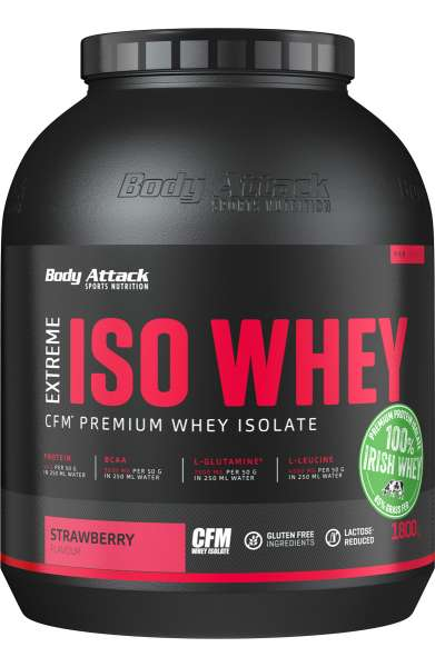 Body Attack Extreme Iso Whey, 1800g